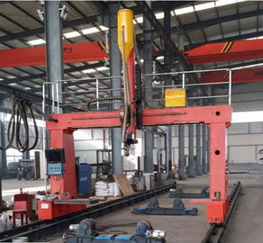 Big Diameter Light Pole Welding Machine Gantry Type Shut Welding
