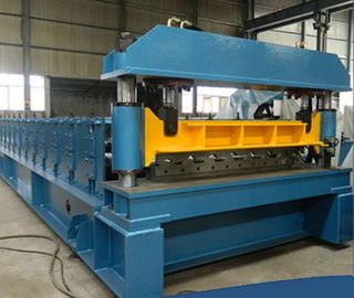 PLC Control Sheet Metal Forming Equipment Roof Tile Forming Machine